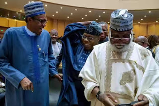 Obasanjo reveals why he didn't snub Buhari at AU Summit