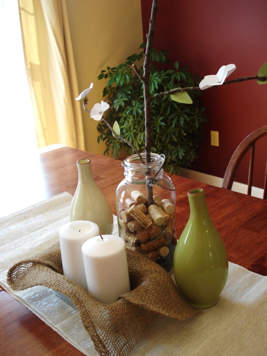 heart maine home decorating for spring