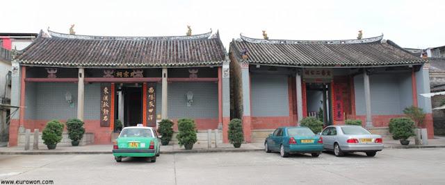 Memoriales Tang y Yu Kiu en Hong Kong