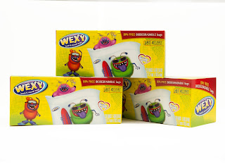 Boxes of Wexy Bags