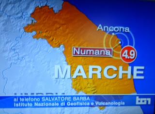 Terremoto a Numana