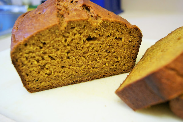 Featured Recipe| Pumpkin Beer Bread from Dessert Before Dinner #SecretRecipeClub #recipe #pumpkin #bread
