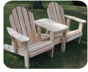 adirondack chair plans double