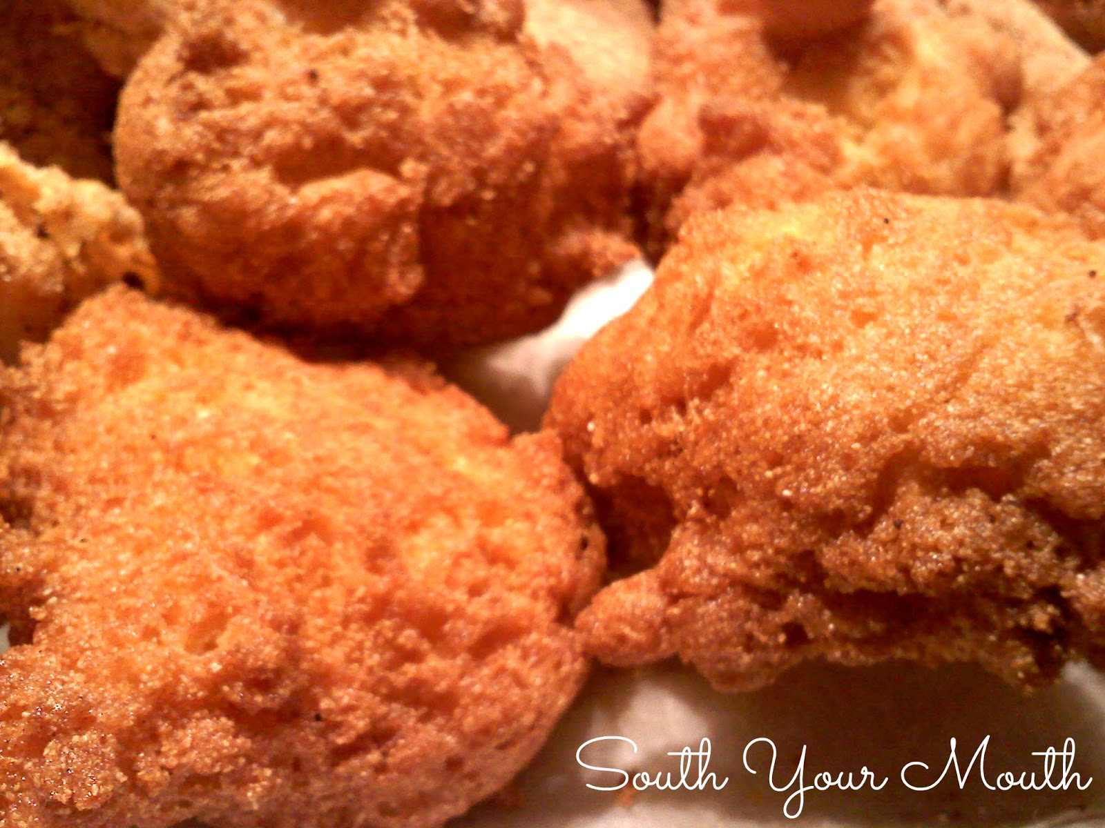 South your mouth hush puppies for Cornmeal fried fish