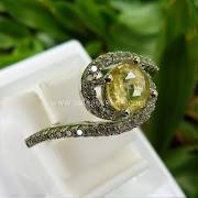Cincin Batu Permata Yellow Sapphire Ceylon - SP600