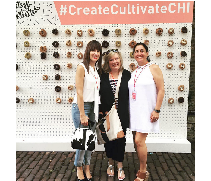 #createcultivateCHI, donut wall, fall style, nordstrom
