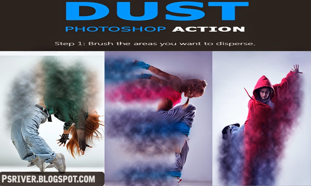 Dust Photoshop Action - Free Download ~ Photoshop River - Free ...