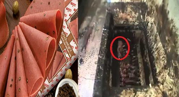 شاهد ماذا وجدوا في أشهر  مصانع اللانشون في مصر ! كارثة كبرى