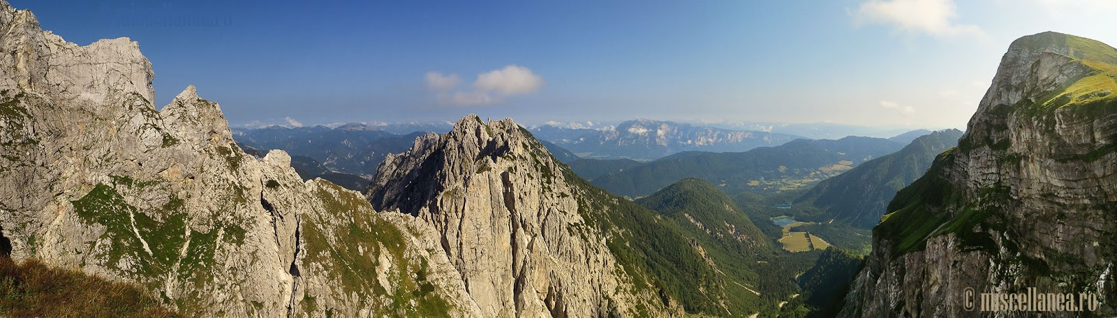 Mangart top of Slovenia