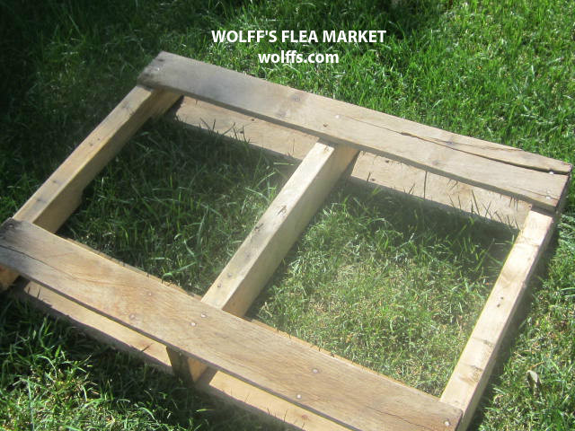 how to build a shelf from a pallet
