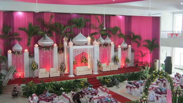 Dekorasi Pernikahan Dalam Ruangan