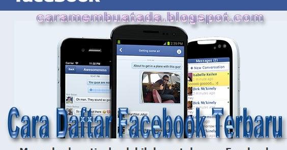 Daftar Facebook Baru Cara Membuat Akun di Facebook FB 2016