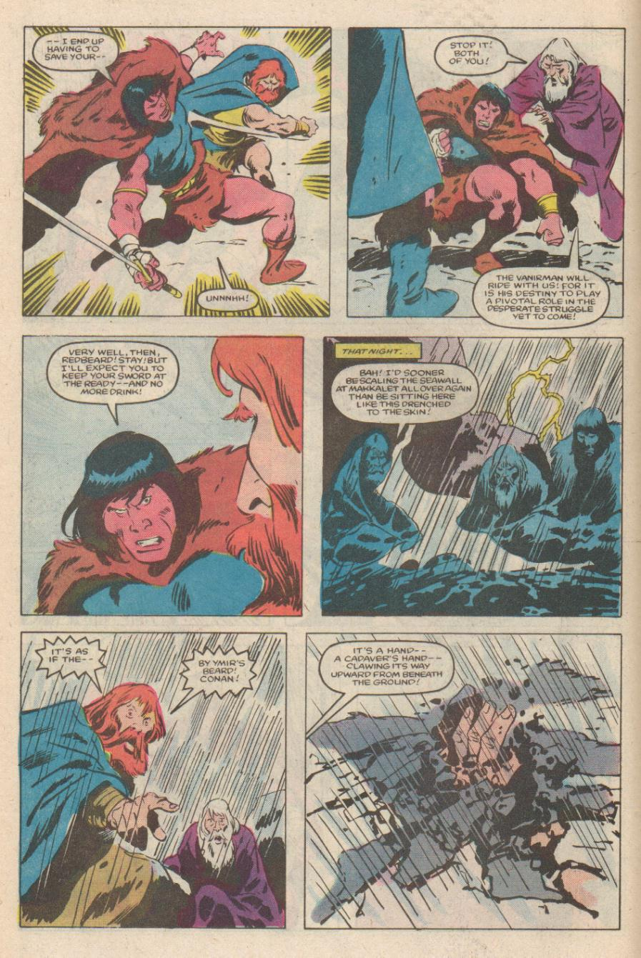 Conan the Barbarian (1970) Issue #170 #182 - English 13