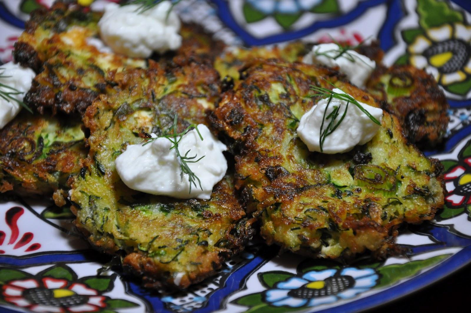 Zucchini Keftedes With Feta And Dill Recipe — Dishmaps
