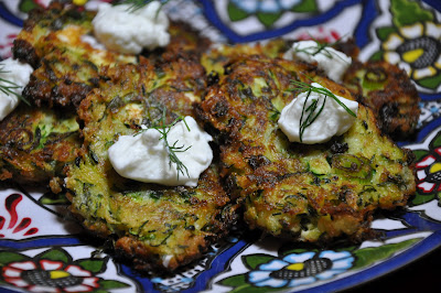 Slice of Rice: Zucchini Keftedes with Feta and Dill