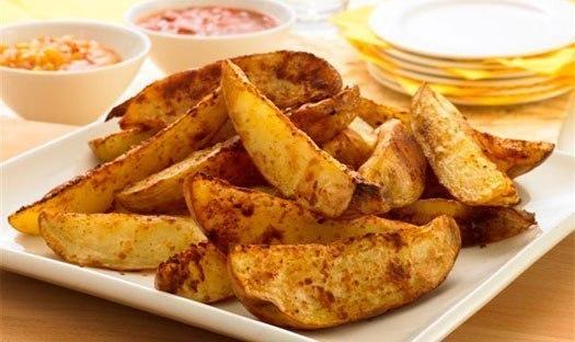 Картошка по деревенски (по сельски)