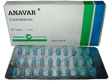 Anavar R$ 25,00 cartela com 30 comprimidos 5 mg