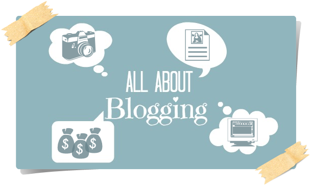 blue, blogging, page