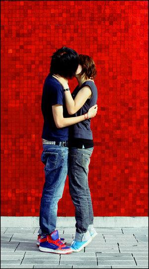 emo kissing galleryes photos