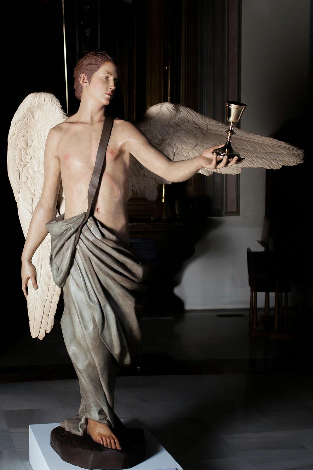 Ángel Semana Santa Tobarra escultura 13