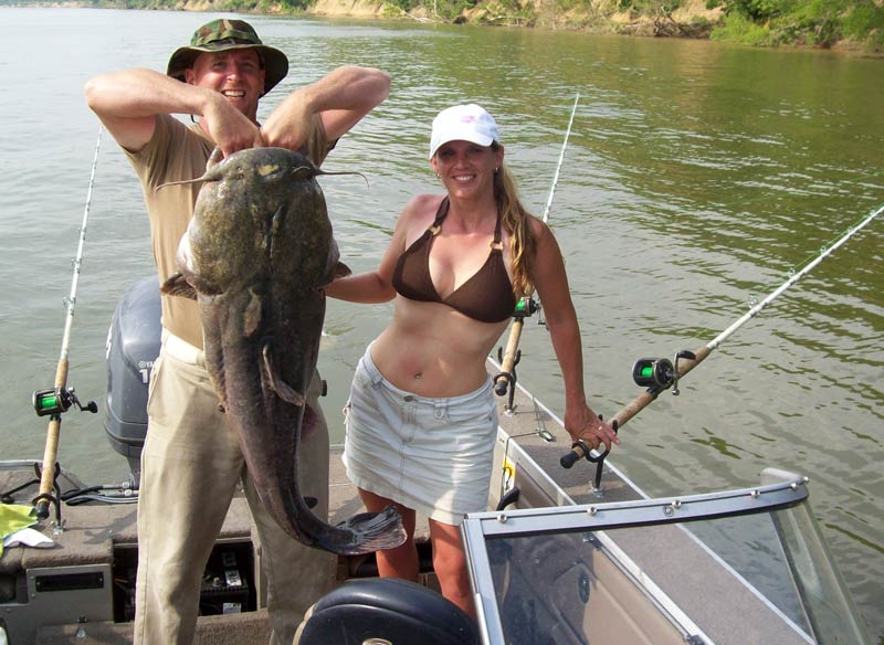 A View From The Beach Blue Catfish Escape Blame In Shad