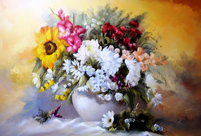 pintura-oleo-flores