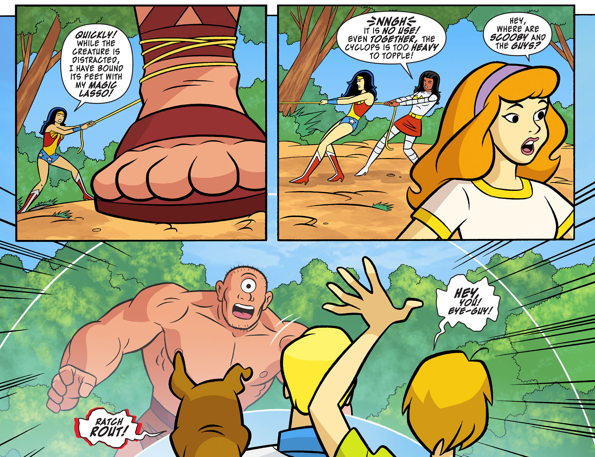 Read online Scooby-Doo! Team-Up comic -  Issue #10 - 6