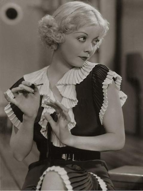 Ruffles Through the Eras ~ 1920s #vintage #1920s #fashion #ruffles
