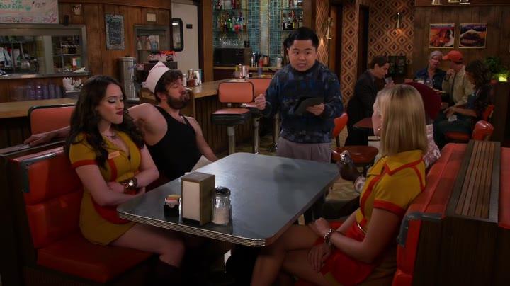 2 Broke Girls S05E05 And the Escape Room Online Putlocker