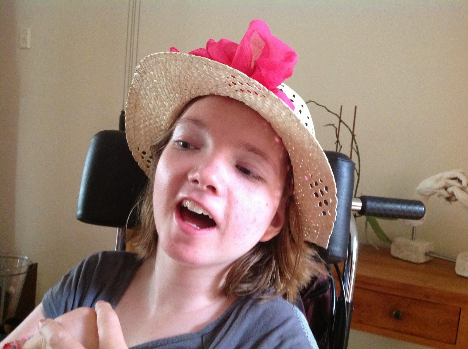 Margo van Otterdijk, een meisje met Rett syndroom: oktober 2014