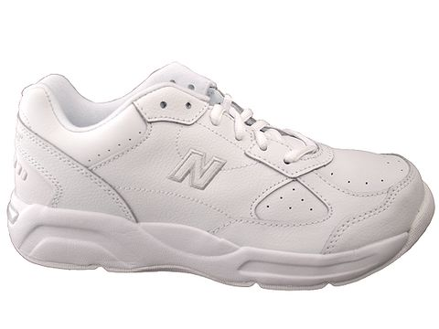 new balance white people's shoes
