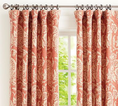 Pink And White Zig Zag Curtains Rose Colored Curtain Panels