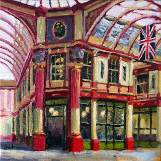 At Leadenhall Market by Liza Hirst