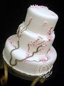 Bolo de Casamento (Cherry Blossom)