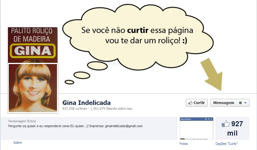 gina indelicada pagina facebook