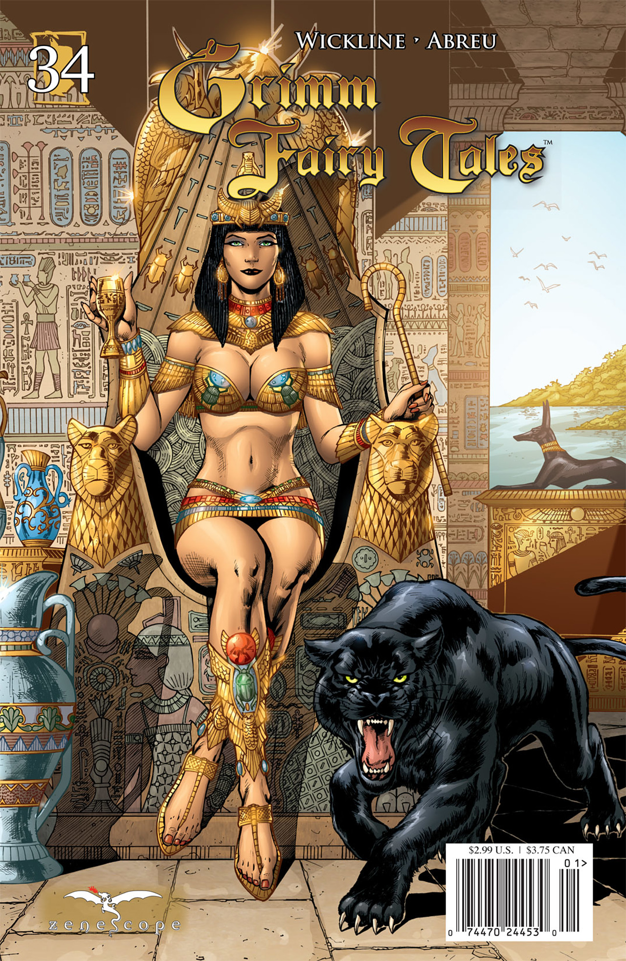 Grimm Fairy Tales (2005) Issue #34 #37 - English 1