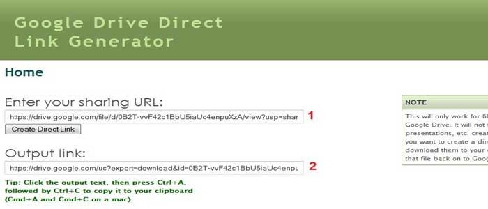 Cara Membuat Download Langsung File Google Drive
