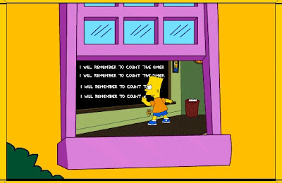 Simpsons Counting the Omer Homer