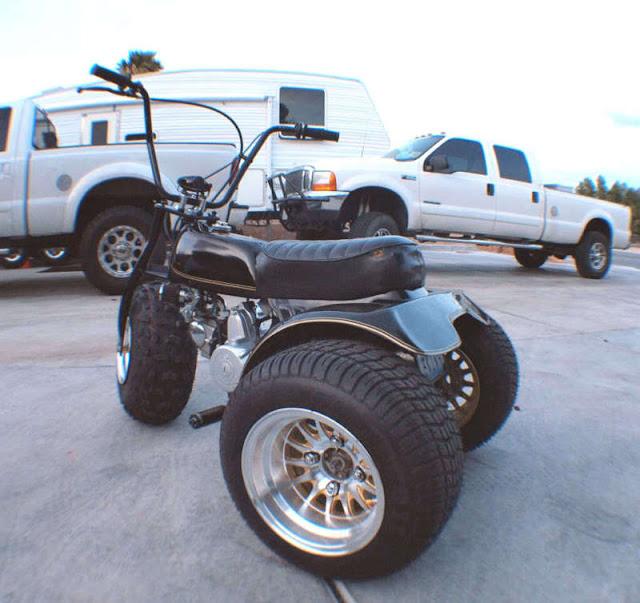 HONDA ATC custom trike