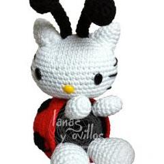 Kitty Mariquita Amigurumi : Patrones Amigurumi: Hello Kitty mariquita
