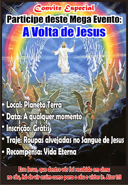 BREVE JESUS VOLTARÁ!