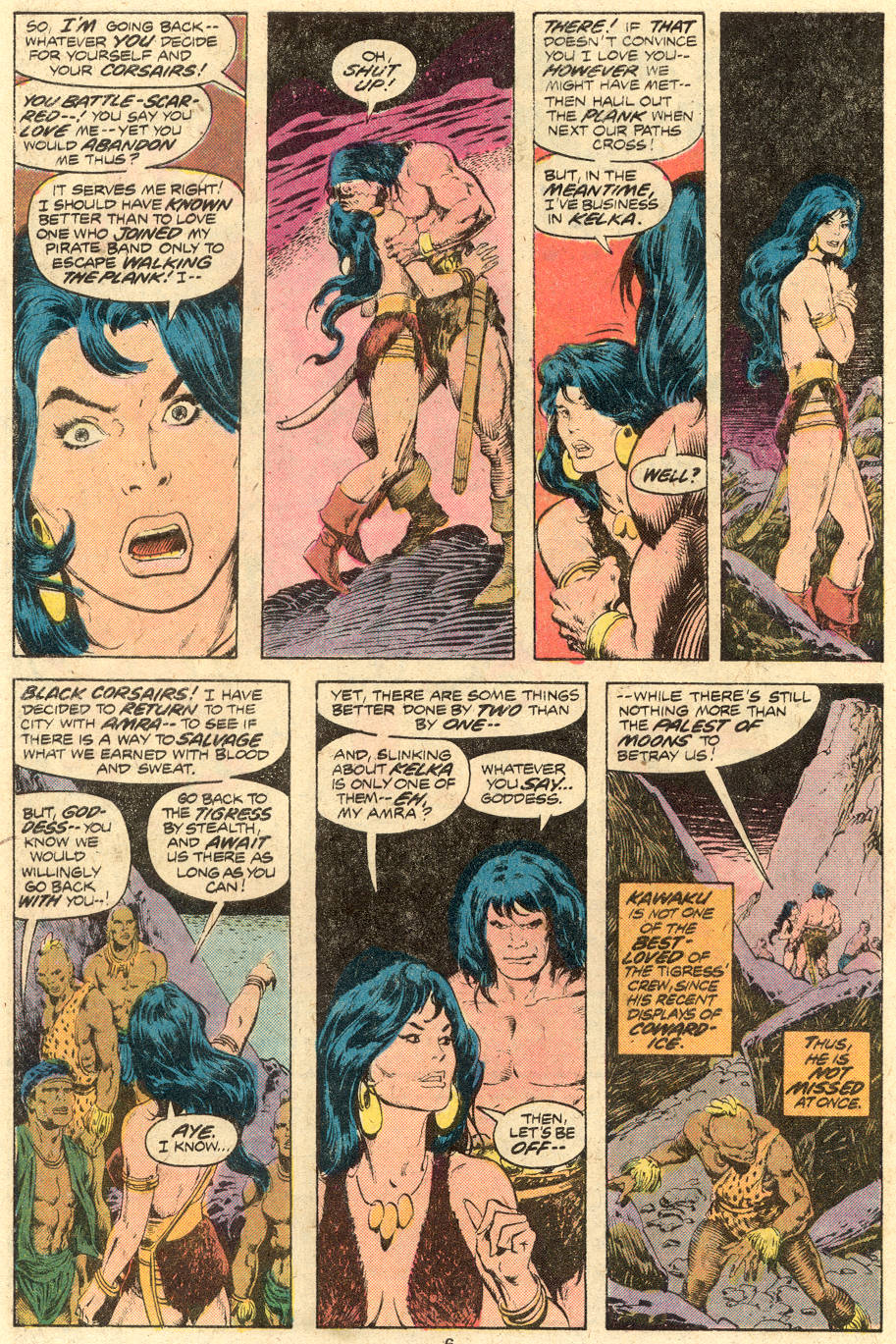 Conan the Barbarian (1970) Issue #71 #83 - English 5