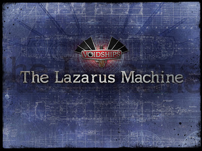 The Lazarus Machine kickstarter logo