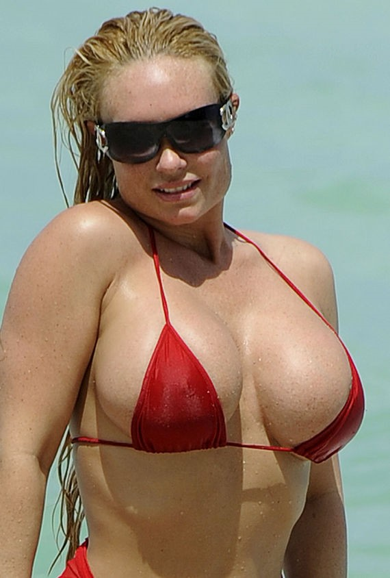Coco Shows off Her Teeny-Tiny Red Bikini PICS: Coco Shows off Her Teeny-Tiny ...