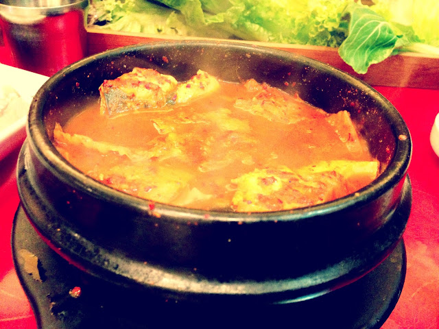 Kimchi Mackerel Soup