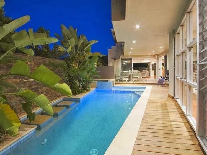 20 desain kolam renang di lahan terbatas design rumah