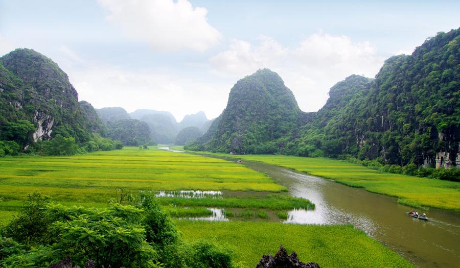 wan perlis pemandangan hijau cantik