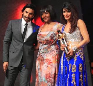 Priyanka-Chopra-Ranveer-Singh-Ndeleka- Mandela-SAIFTA Award Ceremony