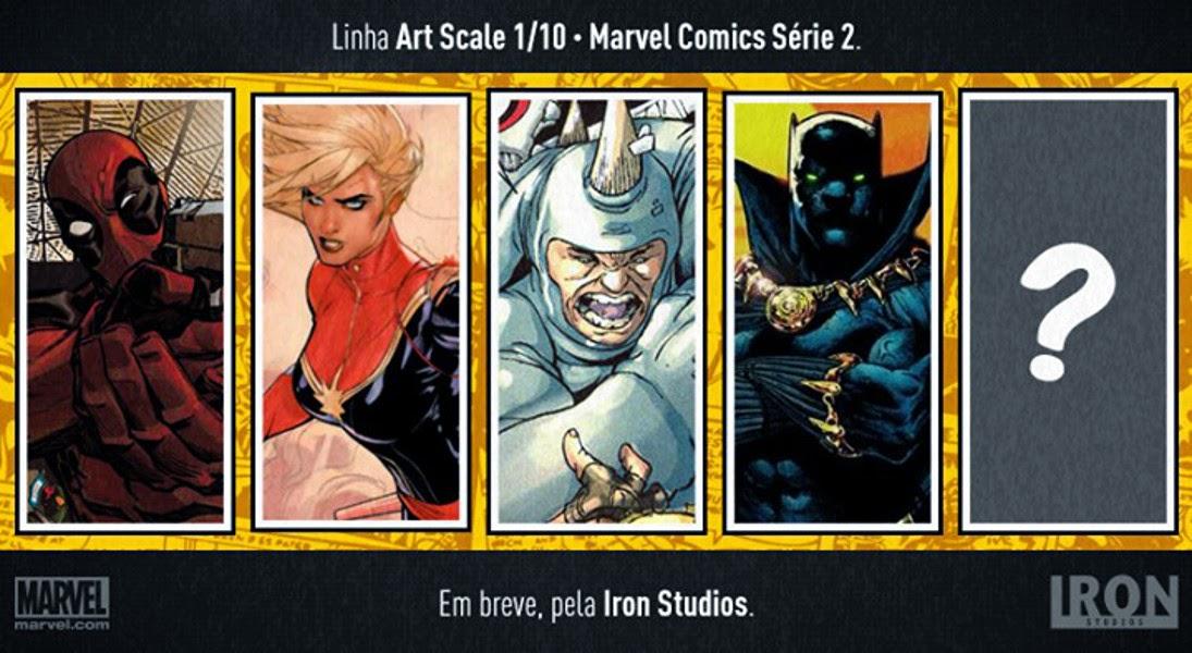 Iron Studios ecco tre nuovi personaggi