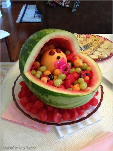 congrats it 39 s a watermelon watermelon baby carriage babyshower